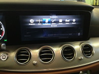 interfaccia video mercedes w213