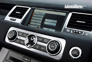 interfaccia video range rover sport 2010