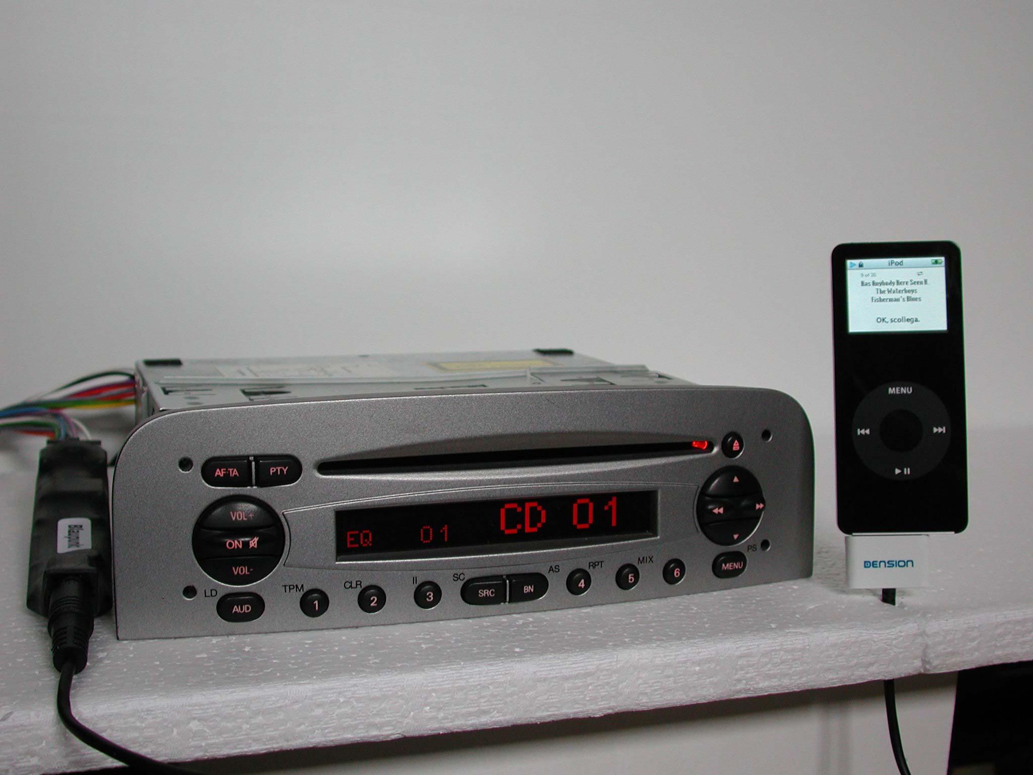 Schema Elettrico Navigatore Alfa 159 : Ipod interfaces
